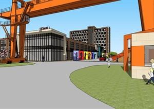 旧厂房工厂建筑改造文化创意创业产业园区