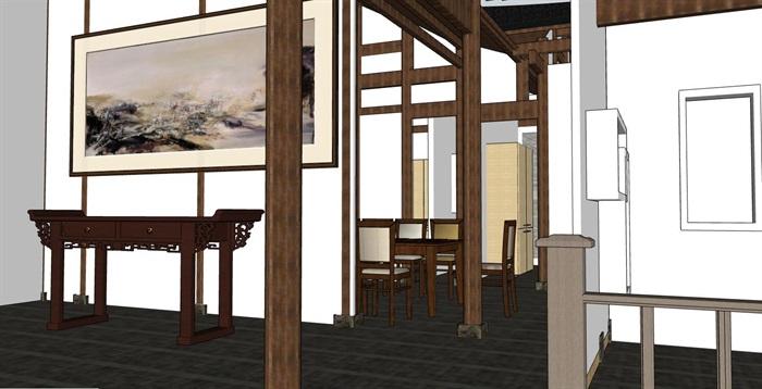 中式古建筑四合院乡村古住宅商业改造精品民宿酒店(2)