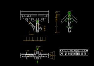 某古建斗拱施工图内包含各式各样斗拱及详图