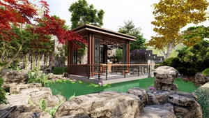 保利·小泉别墅花园设计
