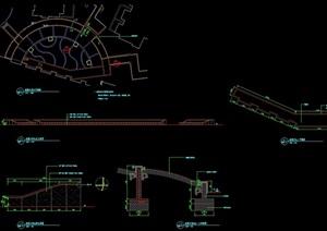 详细的花坛花池设计cad施工图