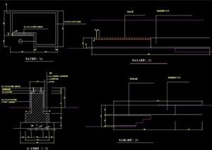 详细花坛设计cad施工图