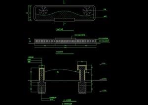 种植花坛设计cad施工图
