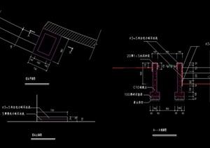 详细的花坛设计cad平立剖面图