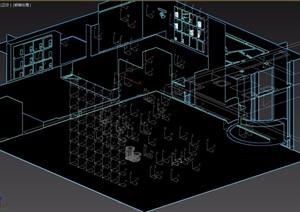 某进来办公室3d模型