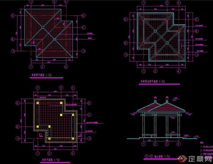 图纸整体绘制详细完整,可直接下载用于相关施工设计使用,欢迎下载.