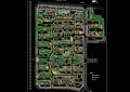 广州某小区规划完整设计cad方案图
