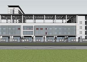 现代新中式高端医院疗养院养老院规划设计