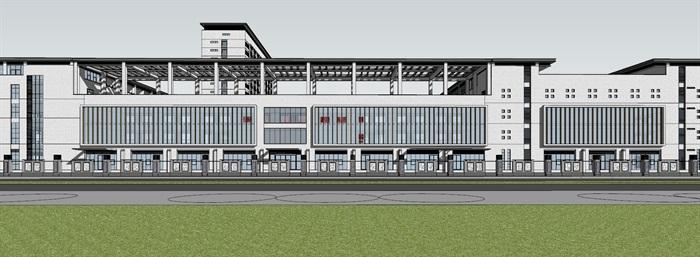 现代新中式高端医院疗养院养老院规划设计(1)