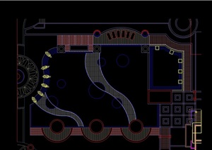 游泳池设计cad方案
