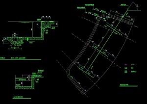 恒温游泳池设计cad施工图