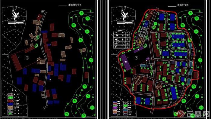 新农村详细规划cad方案图