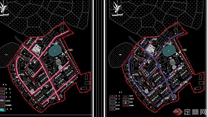 新农村规划详细cad方案图