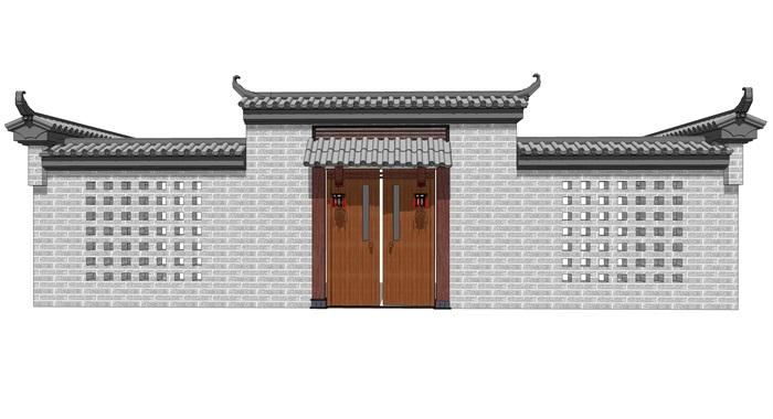 中式院门(1)