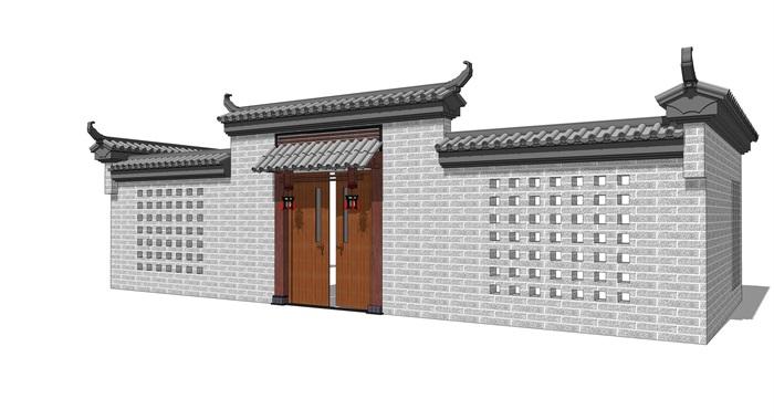 中式院门(2)