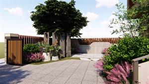 某现代风格庭院设计