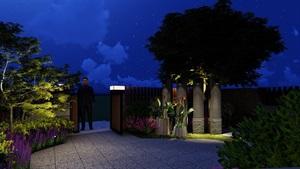 某現代風格庭院(方案設計)