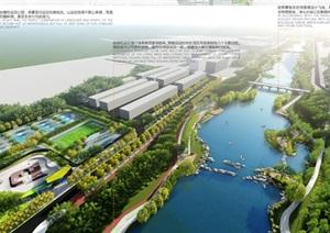 烟台黄金河河滨景观设计精品方案PDF