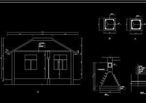 管理房设计cad方案