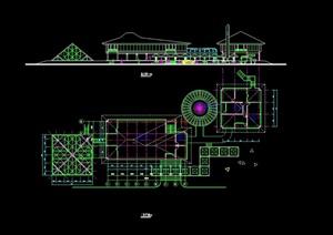 某管理房设计cad方案
