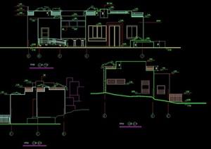 绿地管理用房cad施工图