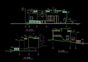 详细的管理用房cad施工图