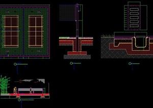 体育场地设计cad方案