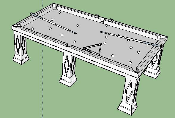 桌球台球桌(3)