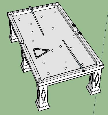 桌球台球桌(1)