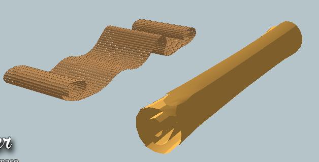 古老的卷纸SU模型(3)