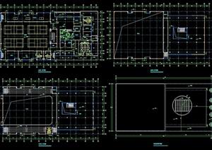 乒乓球体育馆建筑cad方案