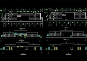 體育場館看臺設計cad方案圖