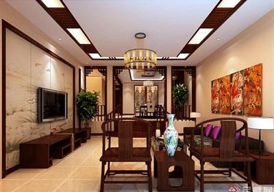 中?#38454;?#23429;详细空间客餐厅玄关设计3d模型