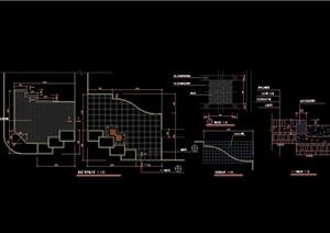 体育健身广场设计cad施工图