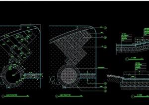 体育运动场设计cad施工图