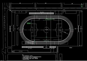 体育健身运动场设计cad方案