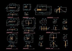多个游乐设施素材设计cad施工图
