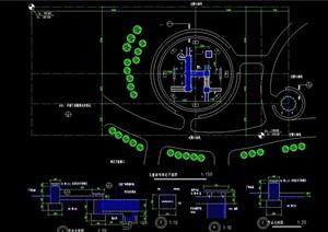 游乐设施素材设计cad施工图