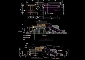 儿童游乐设施素材设计cad施工图