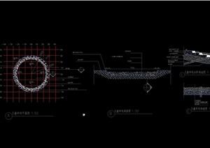 童叟乐园沙坑素材设计cad施工图