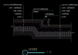?#35762;?#35814;细的台阶设计cad施工图
