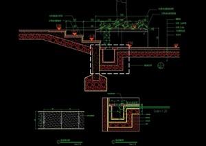 完整详细的台阶cad施工图