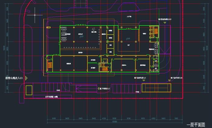 现代高层写字办公商务楼科技研发中心su模型  cad 高清文本图片(10)