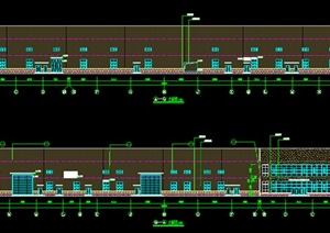 现代风格厂房建筑全套施工图