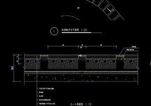 标准台阶踏步设计cad施工图