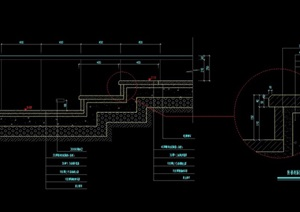 阶梯台阶设计cad施工图