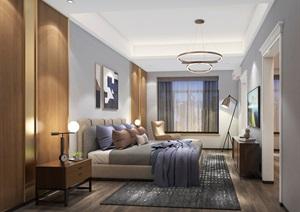 现代三楼小孩卧室SU(草图大师)模型