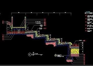 弧形台阶节点详图