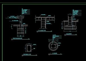 长廊架设计cad方案图
