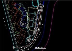 滨河大道设计及节点图纸